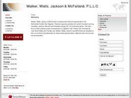 Walker, Watts, Jackson and McFarland, P.L.L.C.