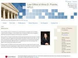 Law Office of Alma D. Puente, APLC