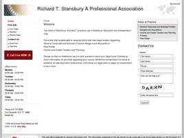 Richard T. Stansbury A Professional Association