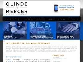 Olinde and Mercer, LLC