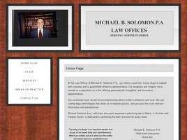 Michael B. Solomon, P.A.
