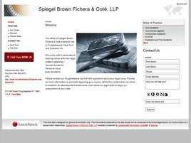 Spiegel Brown and Fichera LLP