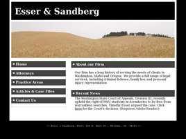 Esser and Sandberg, PLLC