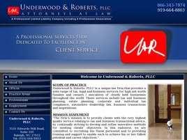 Underwood and Roberts, PLLC