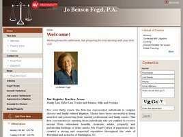 Jo Benson Fogel, P.A.