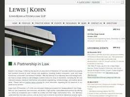 Lewis Kohn and Walker LLP