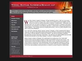 Witzig, Hannah, Sanders and Reagan, LLP