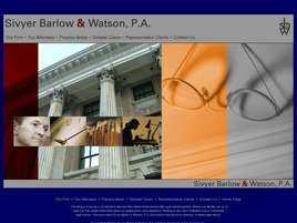Sivyer Barlow and Watson, P.A.