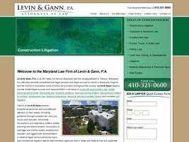 Levin and Gann, P.A.