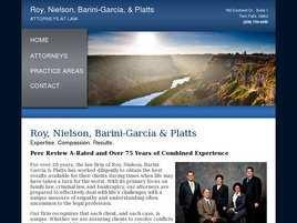 Roy, Nielson, Barini-García and Platts