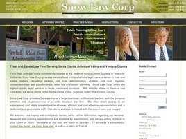 Snow Law Corp.