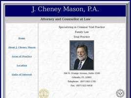 J. Cheney Mason, P.A.