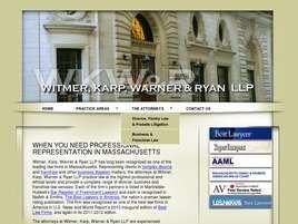 Witmer, Karp, Warner and Ryan LLP
