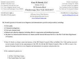 Gary D. Borek, LLC