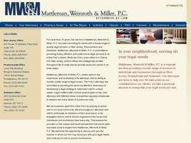 Mattleman, Weinroth and Miller A Professional Corporation