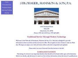 Strohauer, Mannion and Son, P.A.