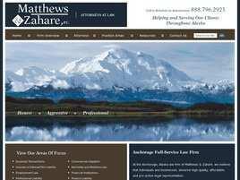 Matthews and Zahare, P.C.