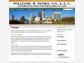Williams and Petro Co., L.L.C.