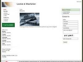 Lockie and Macfarlan