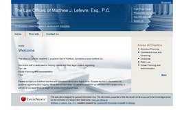 The Law Offices of Matthew J. Lefevre, Esq., P.C.