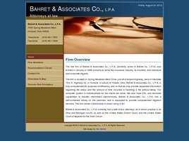 Bahret and Associates Co., L.P.A.