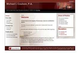 Michael I. Coulson, P.A.