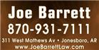 Barrett Joe