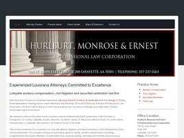 Hurlburt, Monrose and Ernest A Professional Law Corporation