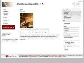 Sheehe and Associates, P.A.
