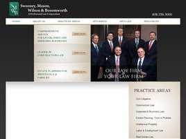 Sweeney, Mason, Wilson and Bosomworth A Professional Law Corporation