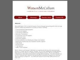 Watson McCallum