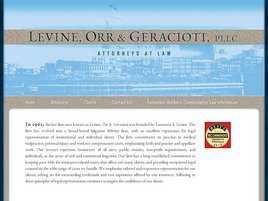 Levine, Orr and Geracioti