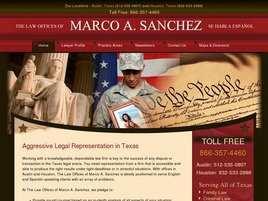 The Law Office of Marco Sanchez