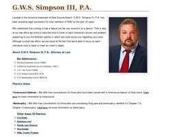 G.W.S. Simpson III, P.A.